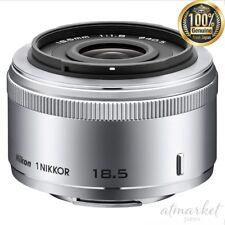 Nikon single focus lens 1 NIKKOR 18.5mm f/1.8 Silver Nikon CX format only JAPAN