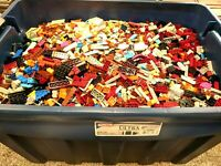 BRAND NEW 100% GENUINE LEGO by the pound : BONUS MINIFIGS w/2+lb purch. 50lb max