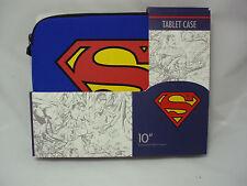 NEW SUPERMAN Sleeve /Case Tablet IPAD1 IPAD 2 IPAD 3 Fits all 10 inch Tablets