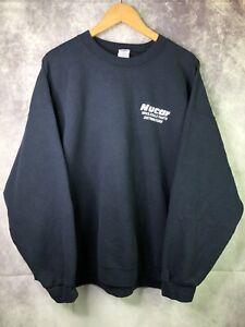 Gildan Heavy Blend Nucar Wholesale Parts Distributors Sweatshirt Black Size 2XL