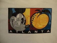 Disney World Disneyland Store Atlanta Georgia The Peach State White T Shirt M