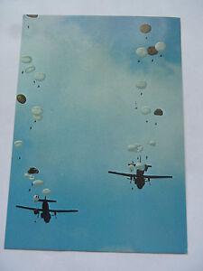 Cpsm Paracadutista Sgancio IN Formation Transail C160