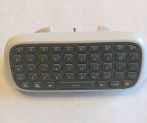 Genuine Official OEM Microsoft Xbox 360 Chatpad Keyboard Text Keypad Controller