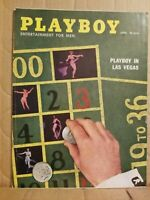 Playboy - April, 1958 REALLY NICE FOR ITS AGE