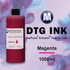 DTG Ink Mangenta 1000ml Dupont Artistri Ink for Direct to Garment Printers Ink