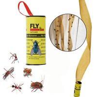 4x Insekten Bug Fliegen Kleber Papierfänger Trap Farbband KlebebandG L1E7