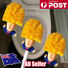 Donald Trump Toilet Bowl Brush WC Gag Gift Hand Made Fast Free Shipping DM