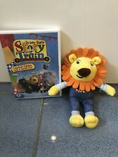 Driver Dans Story Train Lion Soft Toy And DVD VGC ge