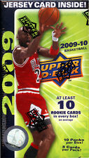 2009-10 UPPER DECK BASKETBALL BOX-POS JORDAN AUTO-CURRY ROOKIE+CURRY ROOKIE CARD