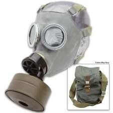 Military New Nos Surplus Full Face Gas Mask Respirator Mc-1 w 40mm Filter & Bag