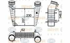 HELLA Radiador de aire admisión para VW PASSAT SKODA SUPERB 8ML 376 776-611