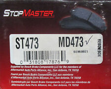 BRAND NEW STOP MASTER MD473 / D473 FRONT BRAKE PADS FITS *SEE CHART*