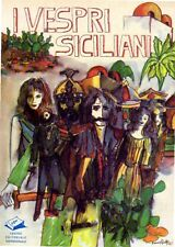 I VESPRI SICILIANI ERNESTO MEZZABOTTA 1985 C.E.M. EDITORE (NA996)