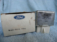 FORD WINDOW RELAY ASSEMBLY # D8BB-18C641-AA   NOS