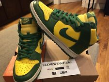 2003 Nike Dunk High Brazil SB pro b euro co.jp Sz 6.5 rare