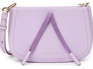 Marc Jacobs Leather Lavender Crossbody NWT