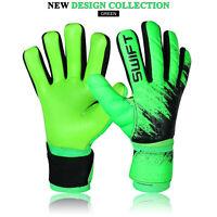 Men Boys Adult Football Goalkeeper Goalie Soccer Gloves Negative Cut Gloves Mitt