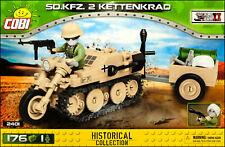 COBI Sd.Kfz. 2 Kettenkrad (2401) - 176 elem. - WWII German small half-track