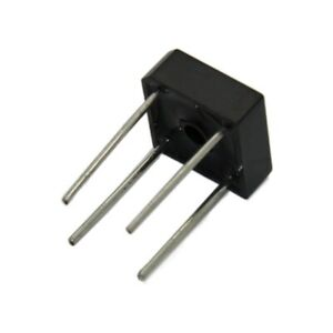 2X PB1001 Single-phase bridge rectifier Urmax: 100V If: 10A Ifsm: 135A DIOTEC SE