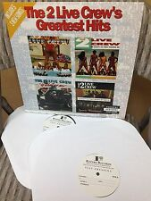 Rare Original Test Pressings of 2 Live Crew's Greatest Hits album W/ free shirt