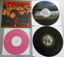 """The Cramps - A-Sides 1978-2003 DBL LP + 1/Sided Pink 10"""" Poster Sleeve"""