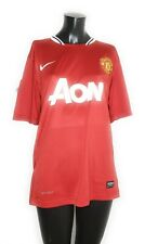 Nike Mens Red Authentic AON Manchester United #10 Rooney Jersey