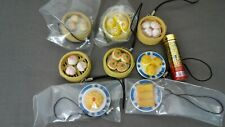 """Keychain-Traditional Cantonese Style Food """"Dim Sum"""" 8 Styles"""