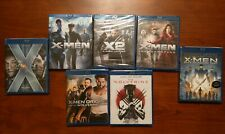 Xmen Blu-ray Collection First Class Wolverine Origins Last Stand Days of Future
