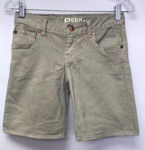 Peek Dungarees Girls Size 12 Shorts Stretch Cotton