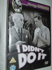 I Didn't Do It DVD George Formby