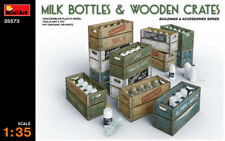 1/35 Miniart – Milk bottle and wooden crates diorama accessories
