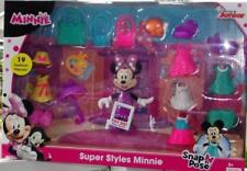 Disney Junior  Super Styles Minnie Snap n Pose  19pc Set  NEW