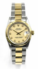 VINTAGE ROLEX OYSTER PERPETUAL DATEJUST 68243 WRISTWATCH 18K GOLD STAINLESS
