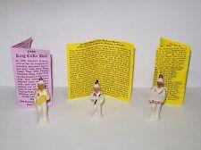 3 Haydels Haydel Mardi Gras King Cake Baby Dolls St Augustine Marching Band 1998