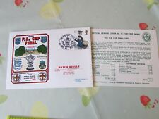 QPR v TOTTENHAM 1982 FA Cup Final Wembley FOOTBALL First Day Cover