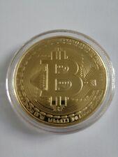 Bitcoin Münze Gold Goldbarren vergoldet Goldmünze Platin Palladium Coin
