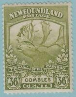 NEWFOUNDLAND 126 MINT HINGED OG * NO FAULTS EXCELLENT !