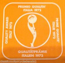 GARELLI TIGER CROSS KL50 RECKORD QUALITY AWARD 1972 TANK TOP DECAL