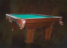 8Ft. Poolbillard Tunier Billardtisch Schieferplatten 3cm Billard Massivholz Nr.7