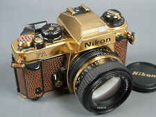 Nikon FA Gold Camera Grand Prix ´84, Nr.2005544 + NIKKOR 1,4/50 GOLD