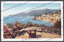 GENOVA CAMOGLI 45 CASTELLARO Cartolina viaggiata 1948