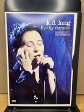 K.D. LANG Live by Request 2001 DVD NTSC Video 5.1 Dolby