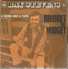 45 TOURS 2 TITRES / RAY   STEVENS     BRIDGET  THE MIDGET      A1