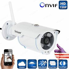 Sricam 720P HD Wireless IP Camera Outdoor Waterproof Night Vision CCTV webcam