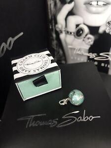 Genuine Thomas Sabo 'World Globe' Pendant Charm RRP£59 Current Design W/Box