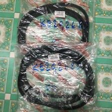 FOR TOYOTA COROLLA KE20 2DOOR SEDAN WEATHERSTRIP RUBBER SEAL PAIR LEFT RIGHT