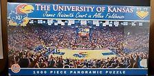 NEW University of Kansas Allen Fieldhouse Panoramic Jigsaw Puzzle 1000 Pieces