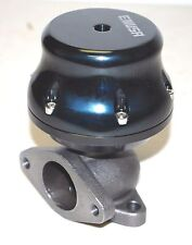 EMUSA Uniersal 35MM/38MM Adjustable External Wastegate 2-Bolt  BLACK