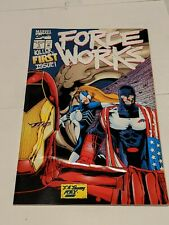 Force Works #1 July 1994 Marvel Comics Fold Out Pop Up Cover Scarlet Witch NEW