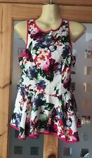 Ladies Size Top Size 8 From River Island Lovely Summer Flowery Top Vgc